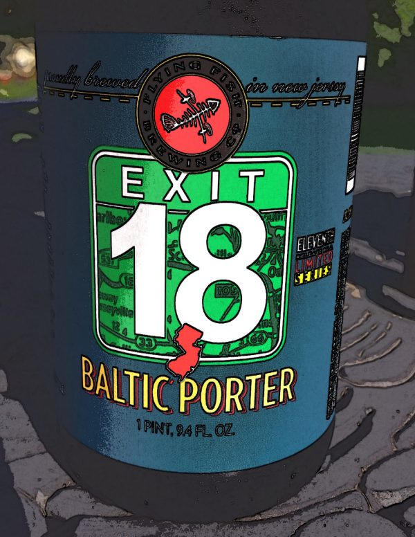 Exit 18 Baltic Porter by Flying Fish