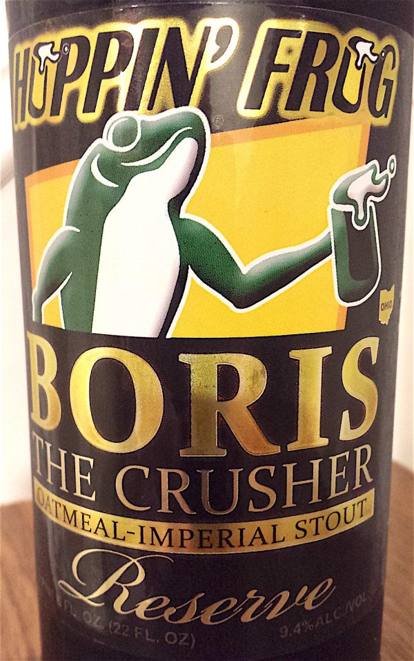 BORIS the Crusher Reserve by Hoppin' Frog