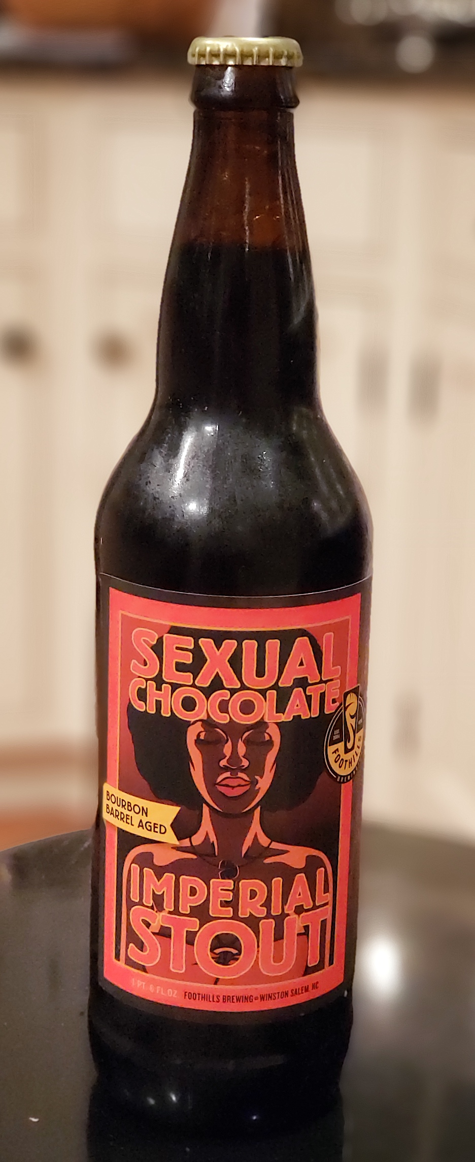 Foothills Bourbon Barrel Aged Sexual Chocolate