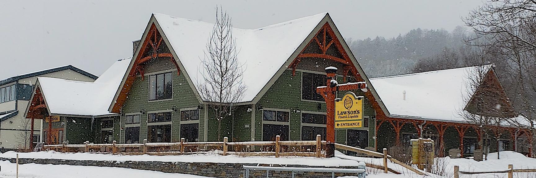 Lawson's Finest Liquids Brewery, Waitsfield, Vermont